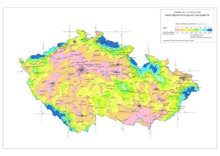 01: Mapa sněhových oblastí