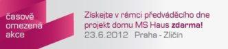 Projektová dokumentace v hodnotě 70 - 150 tis. Kč zdarma na předváděcím dnu v Praze dne 23.6.2012