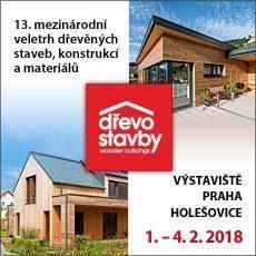 Veletrh Dřevostavby 2018 Praha Holešovice