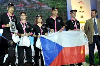 Tým Cyber Express - soutěž Formule 1 ve školách
