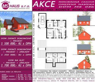 Akční nabídka dům MS 03b
