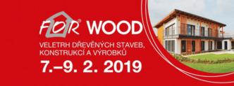 Zveme Vás na veletrh FOR WOOD 2019